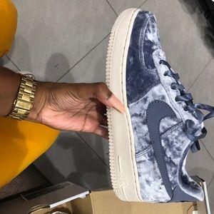 Blue Velvet Nike Air Force 1